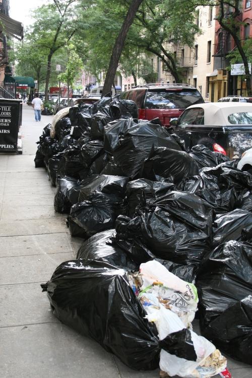 73rd st garbage