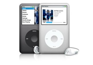 white 16GB iPod classic