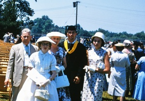 dad's graduation from fairfield u