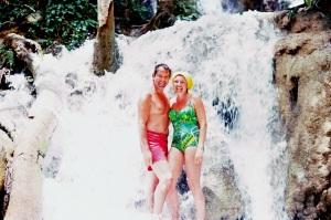Mom & Dad in Jamaica