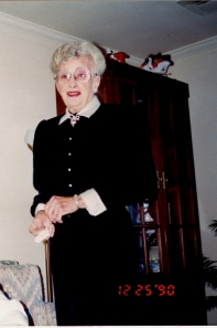 gram, christmas 1990