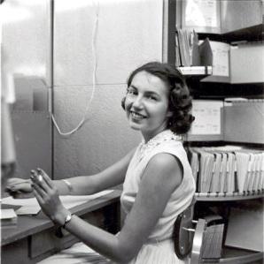 mom in 1957