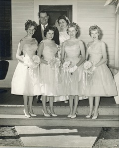 wedding day July 9, 1960