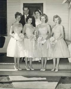 wedding day July 9, 1960