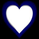 Heart-blue