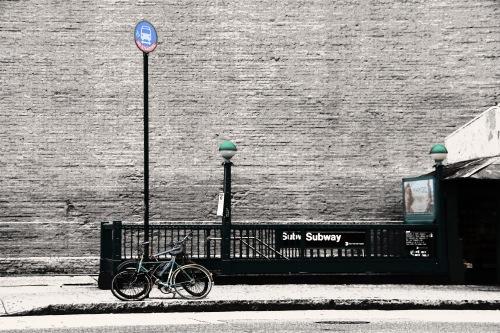 subway bikes houston st 2