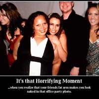 that horrifying moment . . .