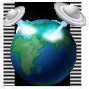 space globe