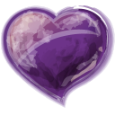 Heart-violet-icon