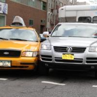 city cab crash