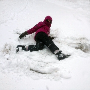 katie jones  snow angel