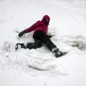 katie jones  snow angel